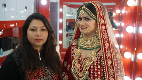 Welcome to Shahnaz Hussain & Loreal Professional Beauty Salon